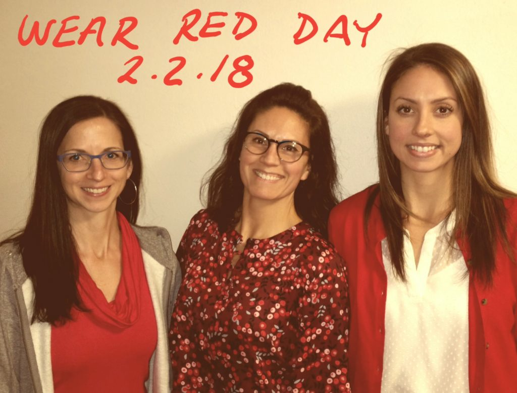 wear red day image