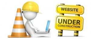 website construction graphic