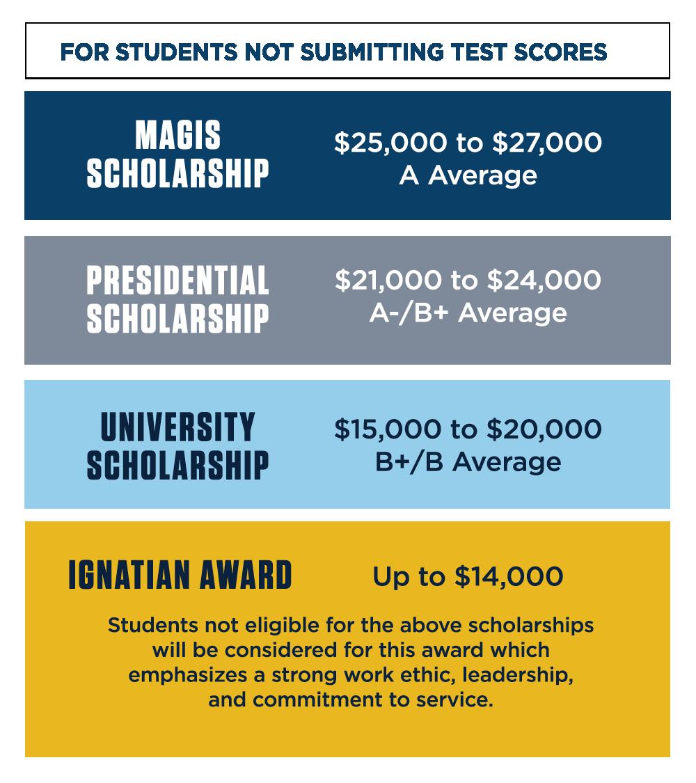 Merit Scholarship Information