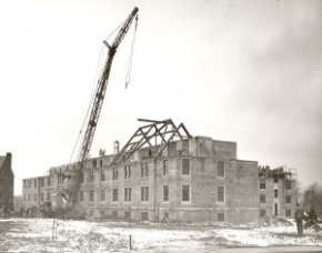 pacelli hall under construction