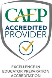 CAEP Accredited Provider Seal