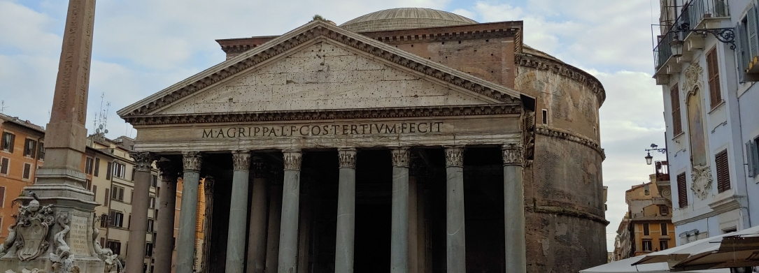 the Pantheon in Rome Italy
