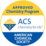 ACS Approved Chemistry Program Logo