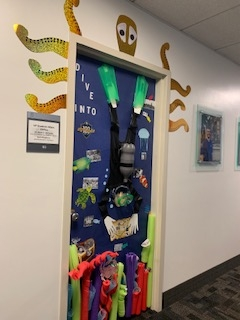 The Office of Student Affairs-Door Decorating Contest Winners!