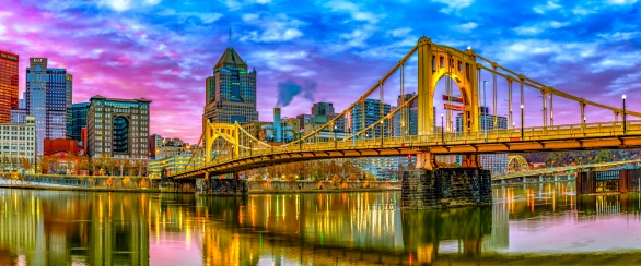 Skyline of Pittsburgh, PA
