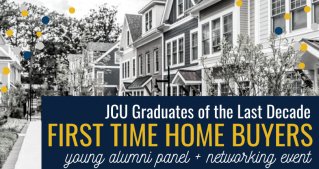 Alumni first time home buyers event banner