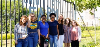 CSSA Summer in the City Interns 2019 and Ohio City Farm