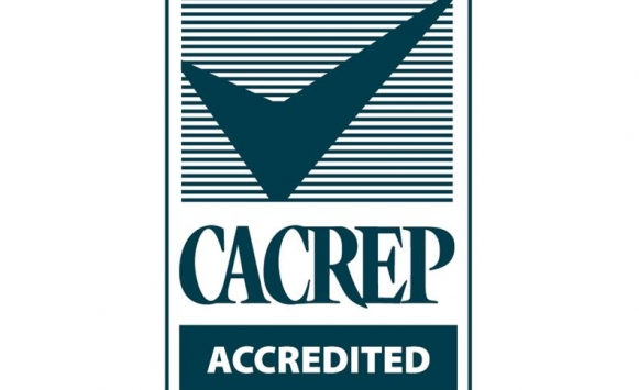 logo of CACREP accreditation