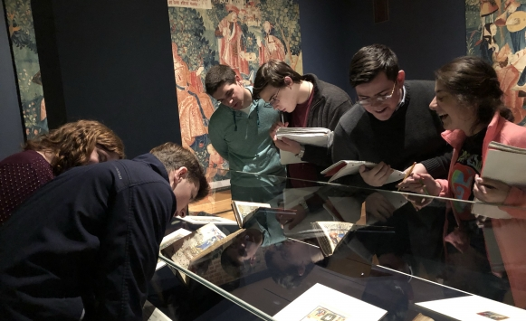 Latin students visit Cleveland Museum of Art