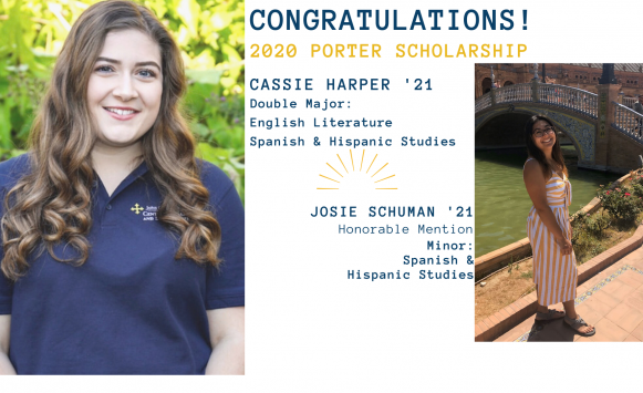 Harper and Schuman named in Porter selection