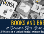 GOLD Alumni Books and Brews event header